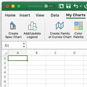 Custom Excel Toolbar